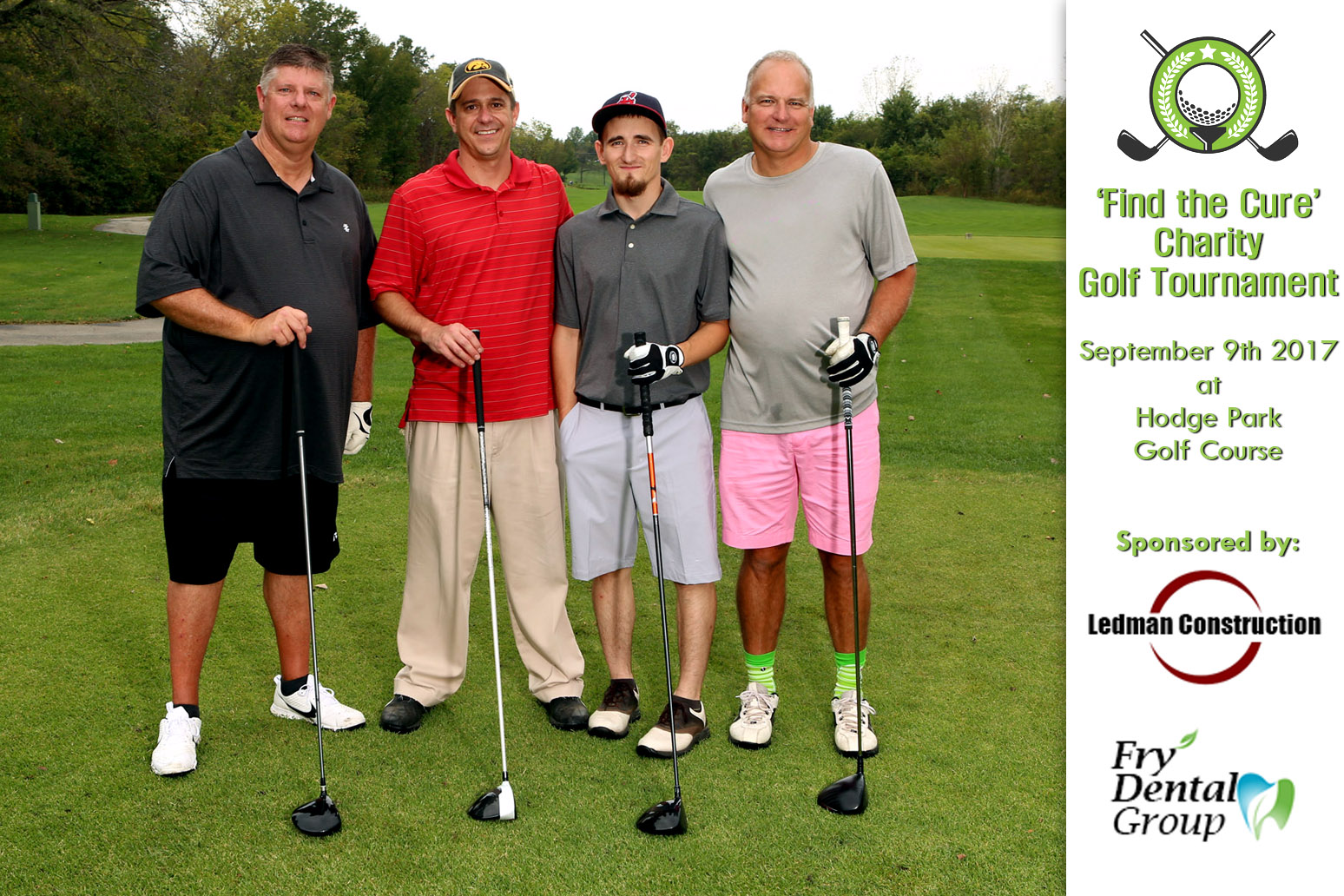 golf tournament photography - digital sponsorship