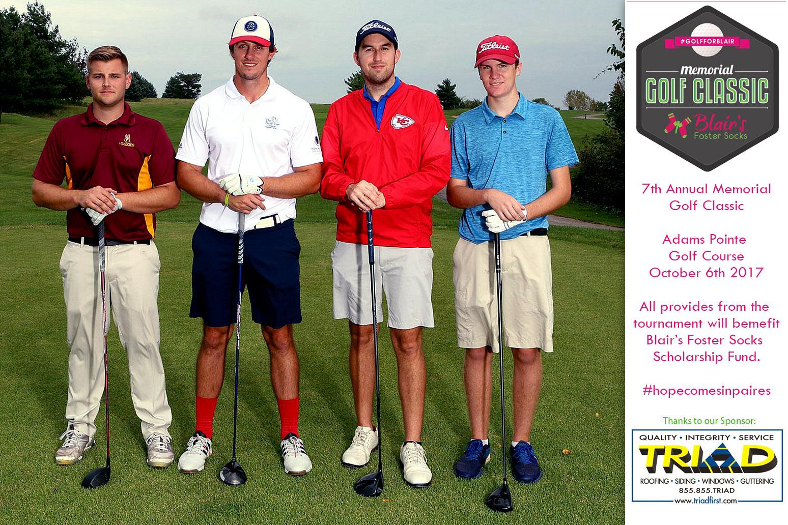 golf tournament photography - sponsor team photo 1