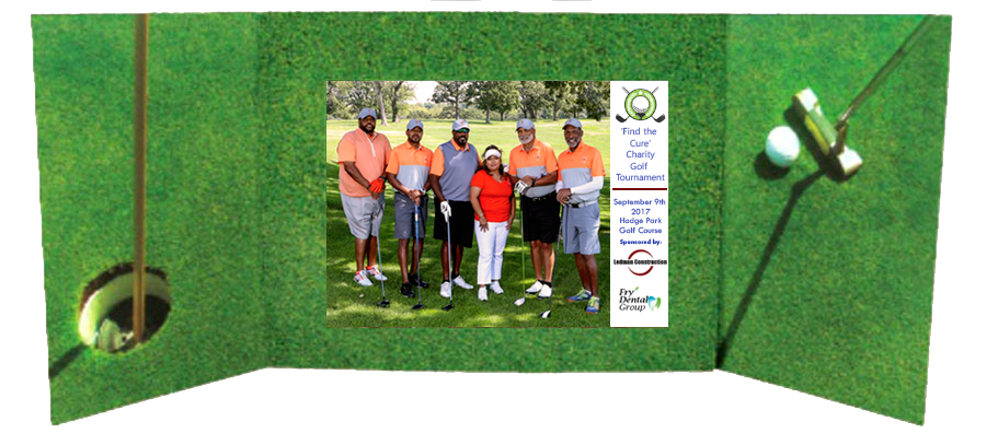 golf tournament photography - printed sponsorship
