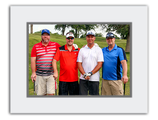 golf tournament photography - standard photo folder
