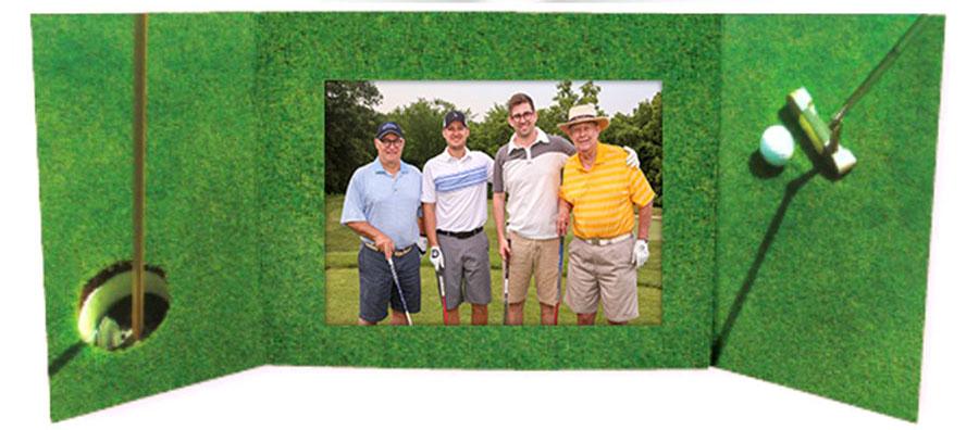 Open Golf Folder