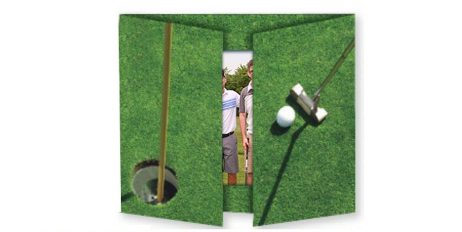 front golf folder